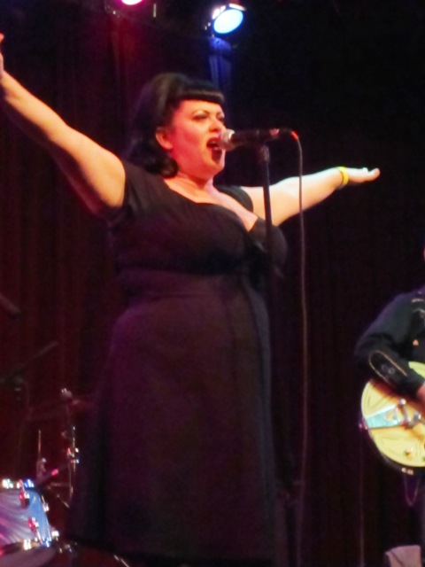 Quarter Mile Combo vocalist & front woman, Nettie Hammar