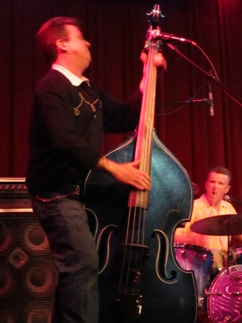 Quarter Mile Combo bass player Todd Troublemaker