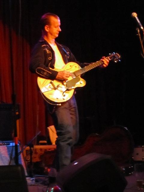 Quarter Mile Combo guitarist & West Ender Justin Barr
