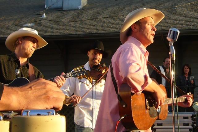 The Hank Band at the KRSH Backyard concert