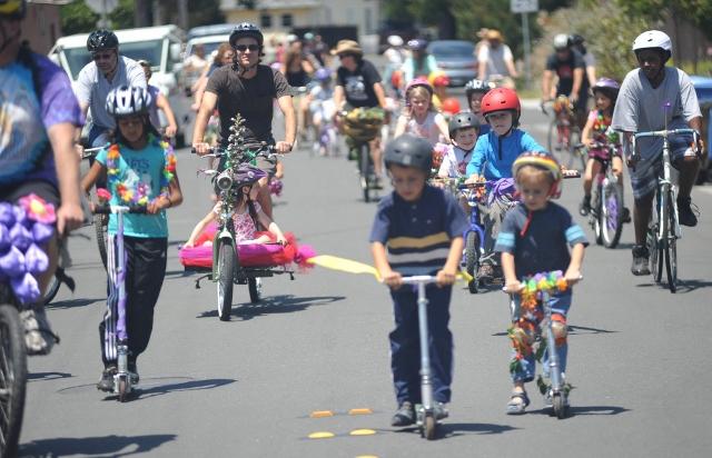 West End Bike Parade
