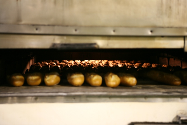 Bread in the oven- S. Kerns