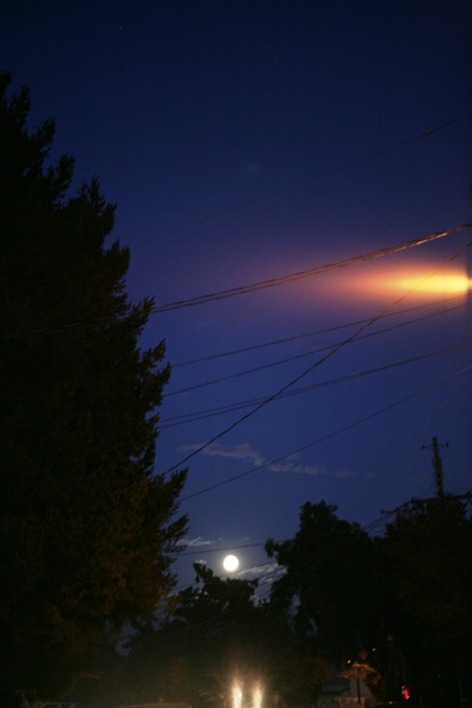 Full Moon over the West End - S. Kerns