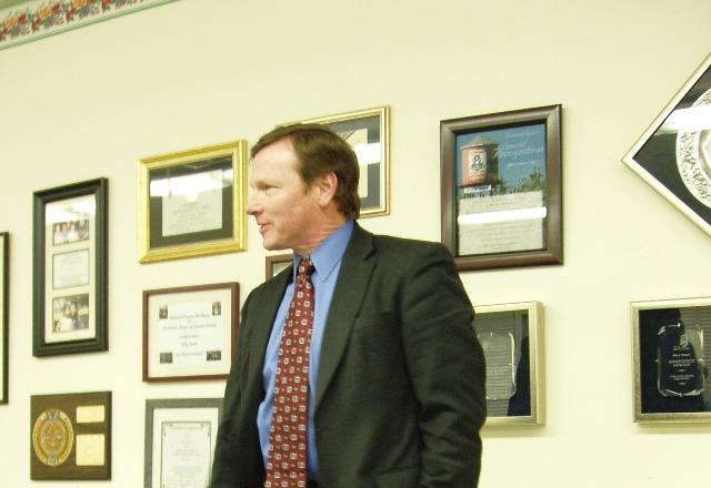 SRPD Chief Tom Schwedhelm