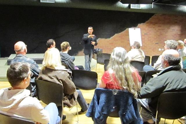 Our featured speaker Ernesto Olivares