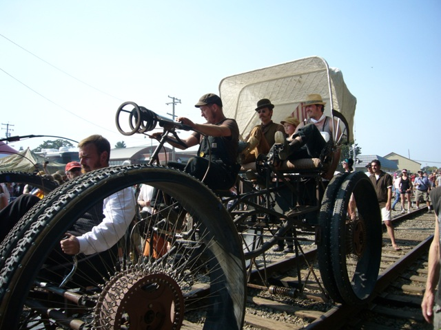 The Hennepin Crawler and crew
