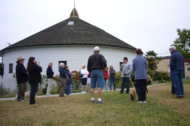 DeTurk Round Barn, Park and Dog Park toured