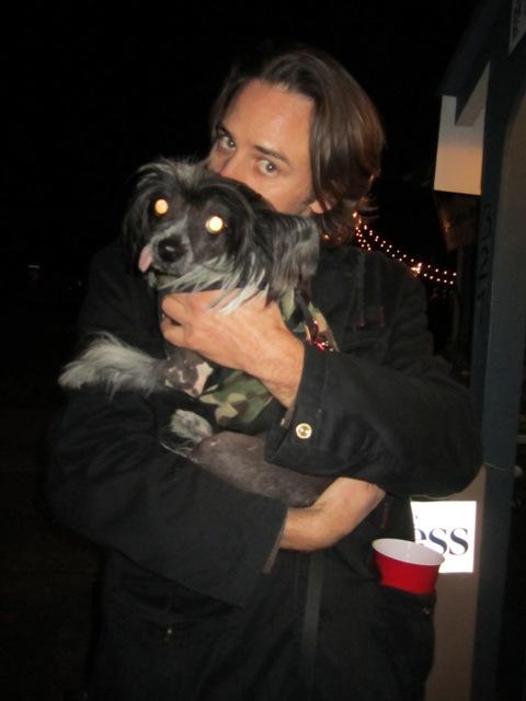 Winterfest- Uncle Daniel keeps Cruella warm