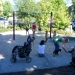 Children and swings, what\'s not to like?