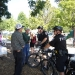Bob & Lou Bertolini discuss crime with Bike Patrol