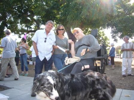 Rich & Rita visit with Stan & Merle