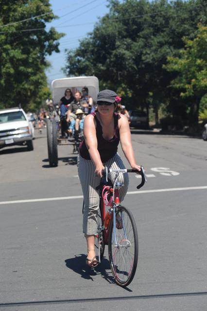 West End Bicycle Parade photo by Ben Rosales