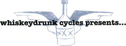 Whiskey Drunk Cycles' Sunday Funday Fundraiser logo