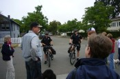 SRPD Bike Patrol answers questions about their downtown beat.