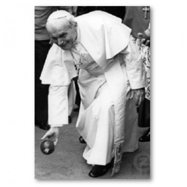 Pope Playing Bocce