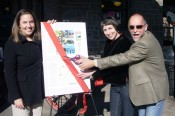 West End Walking Tour Ribbon CuttingJessica Diaz, Lea Barron-Thomas & Kernan Coleman