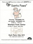 Santa Paws at Western Farm Center