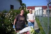 Gina Stateler-Calhoun & Cesca Wellman- Rose Garden crew