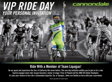 Cannondale Demo Ride by Special Invitation
