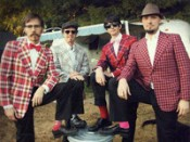 The Deluxe Buckets- Debonair, Dapper devils in plaid
