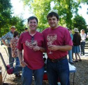 Burning Hawk Wines- Scott Johnson & Nick Papadopoulos