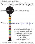 Street Pole Sweater Project