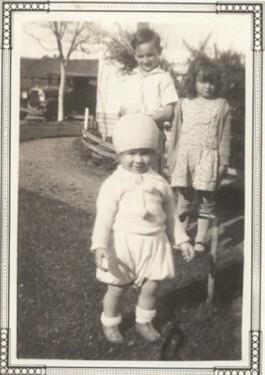 Charlie, Rita & Alfred Carniglia on W. 6th Street