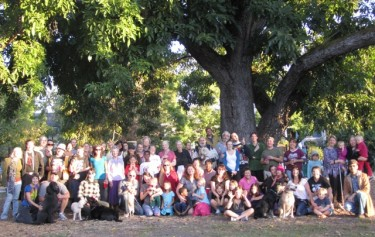 The Official 2010 Bocce Group Photo!