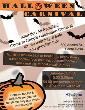 Chops Halloween Carnival