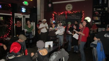 W. E. Carolers at Toad in the Hole