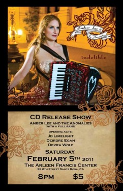 Amber Lee CD Release Party