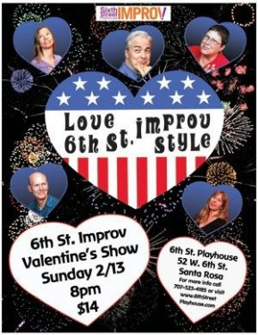 6th St. Improv- The Valentines Show