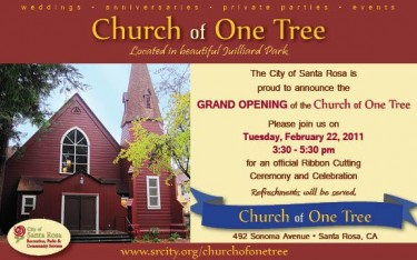 Church of One Tree Grand Opening