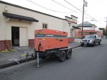 Generator at Franco American