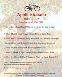 Apple Blossom Bike Ride