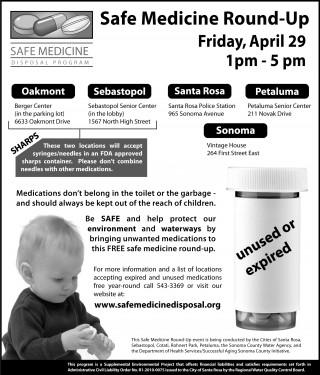 Safe Medicine Round Up