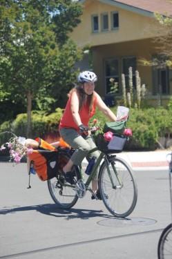 Learn how to haul stuff on a bike