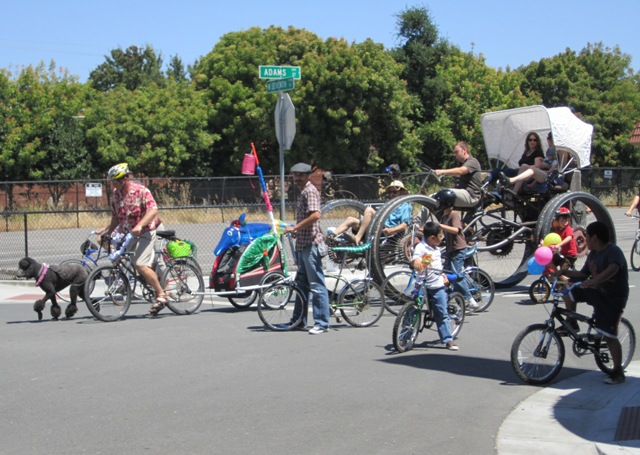 The 2010 Bike Parade