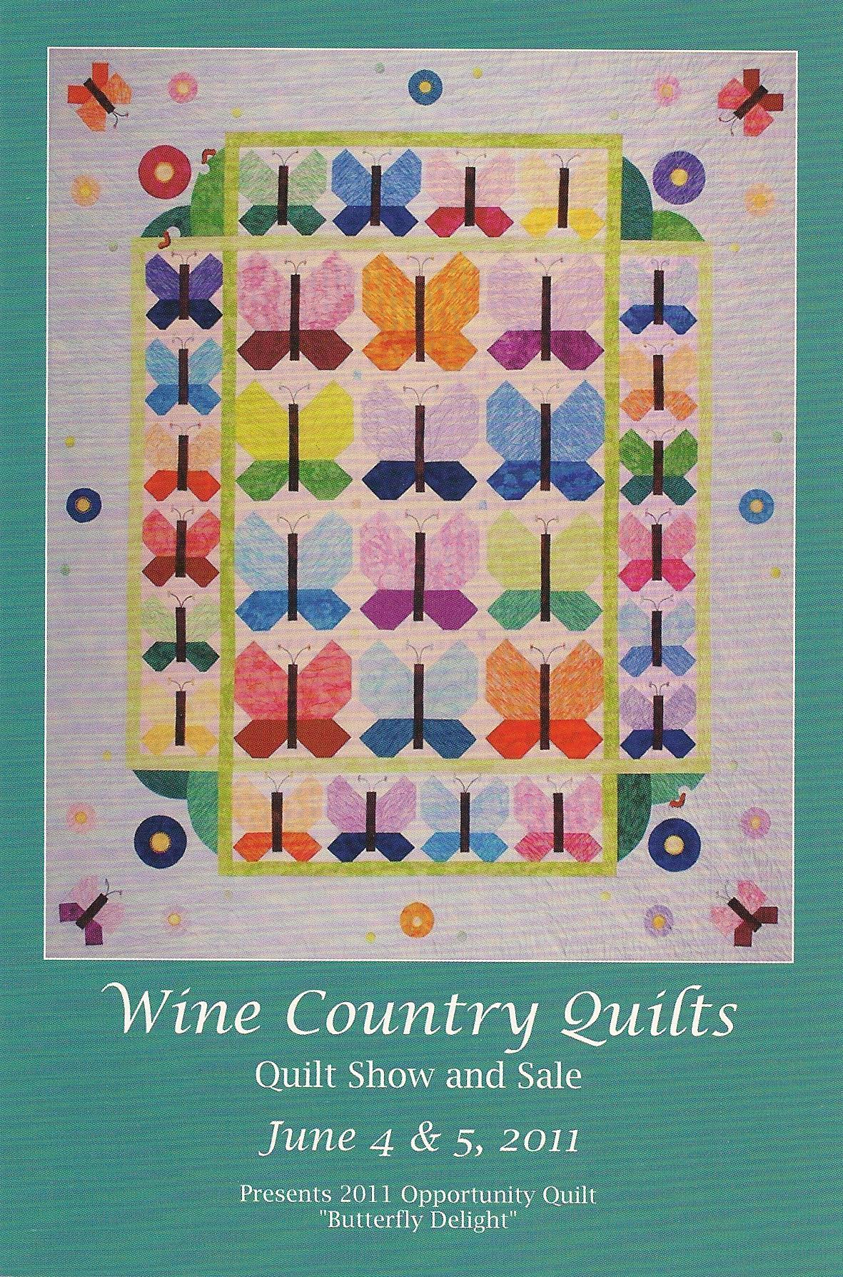 Wine Country Quilts June 4 & 5th