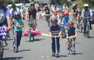 W. E. Bike parade 2011