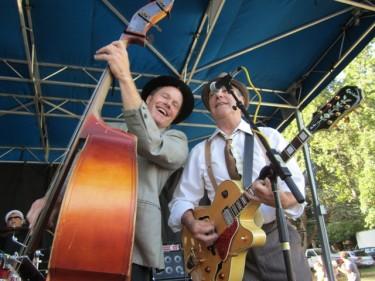 Miss Kitty bandmembers Tim Sarter & Dennis Sherman