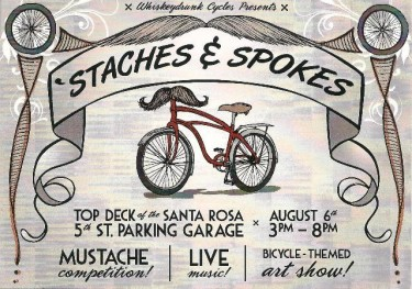 'Staches & Spokes