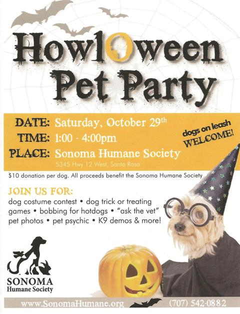 HowlOween Pet Party