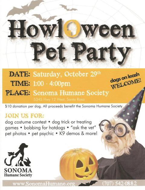HowlOween Pet Party