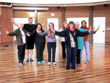 Flying Crane Qigong at DeTurk Round Barn
