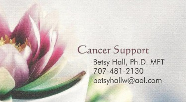 Betsy Hall Ph.D , MFT is a West End Neighborhood Sponsor