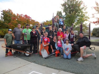 DeMeo Park Clean Up November 17, 2012