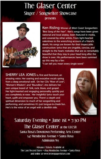 Ken Risling & Sherry Lea Jones Concert