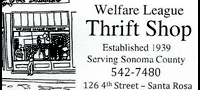 Welfare League Thrift Shop