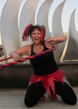 Take a Hula Hoop class with Choi Tse at DeTurk Round Barn
